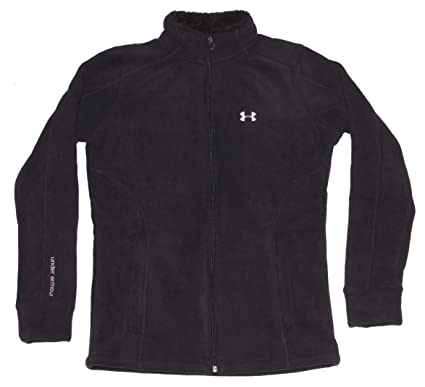 Amazon.com  Under Armour Women s ColdGear Loose Full Zip Sherpa ... a3051f661