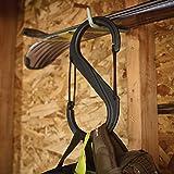 Carabiner Clip, 10-3/8 in, Plastic, Black