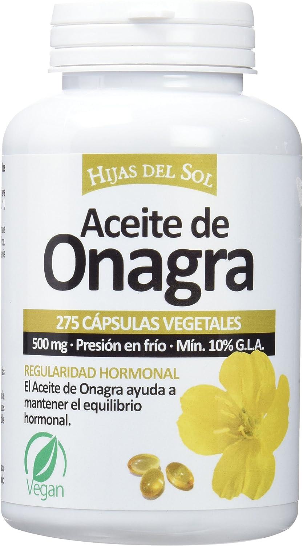 Hijas Del Sol - Aceite de Onagra, 275 Cápsulas Blandas: Amazon.es ...