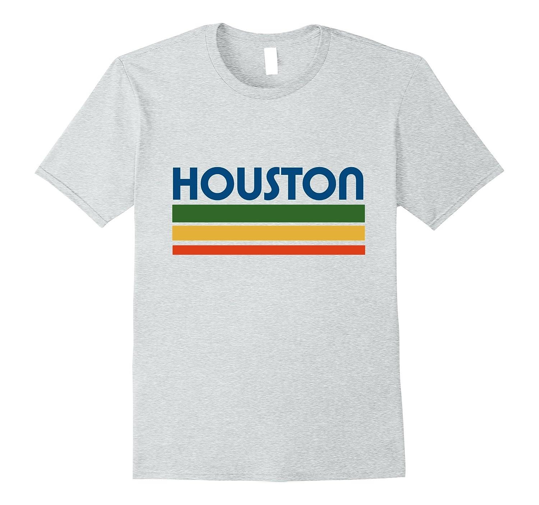 18e4dfa6 Houston Texas t-shirt retro style houston pride tee shirts-T-Shirt ...