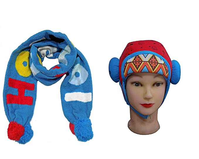 a0195f37a Baal Birthday Gifts Combo for Kids Muffler for Kids Stylish for Winter Wear  Kids Warm Woolen