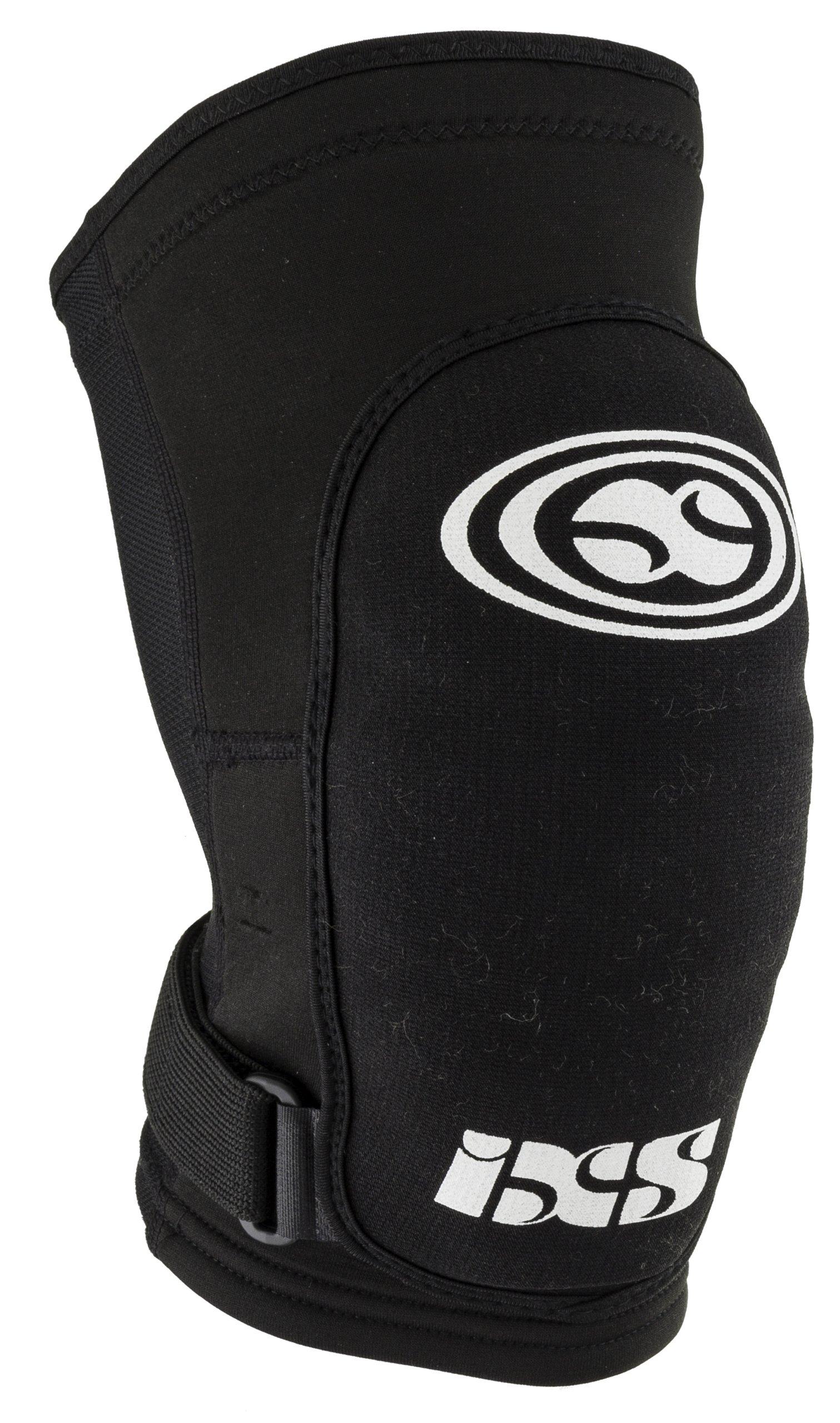 IXS Flow soft black (Size: L) leg protector