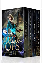 Federal Agents of Magic Boxed Set 1 - Urban Fantasy Action Adventure: Magic Ops, Agents of Mayhem, Counter Ops, Agents of Chaos Kindle Edition
