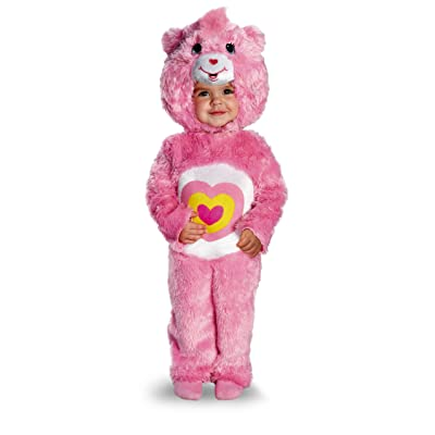 Disguise Baby Girl's Care Bears Wonderheart Bear Deluxe Costume: Toys & Games