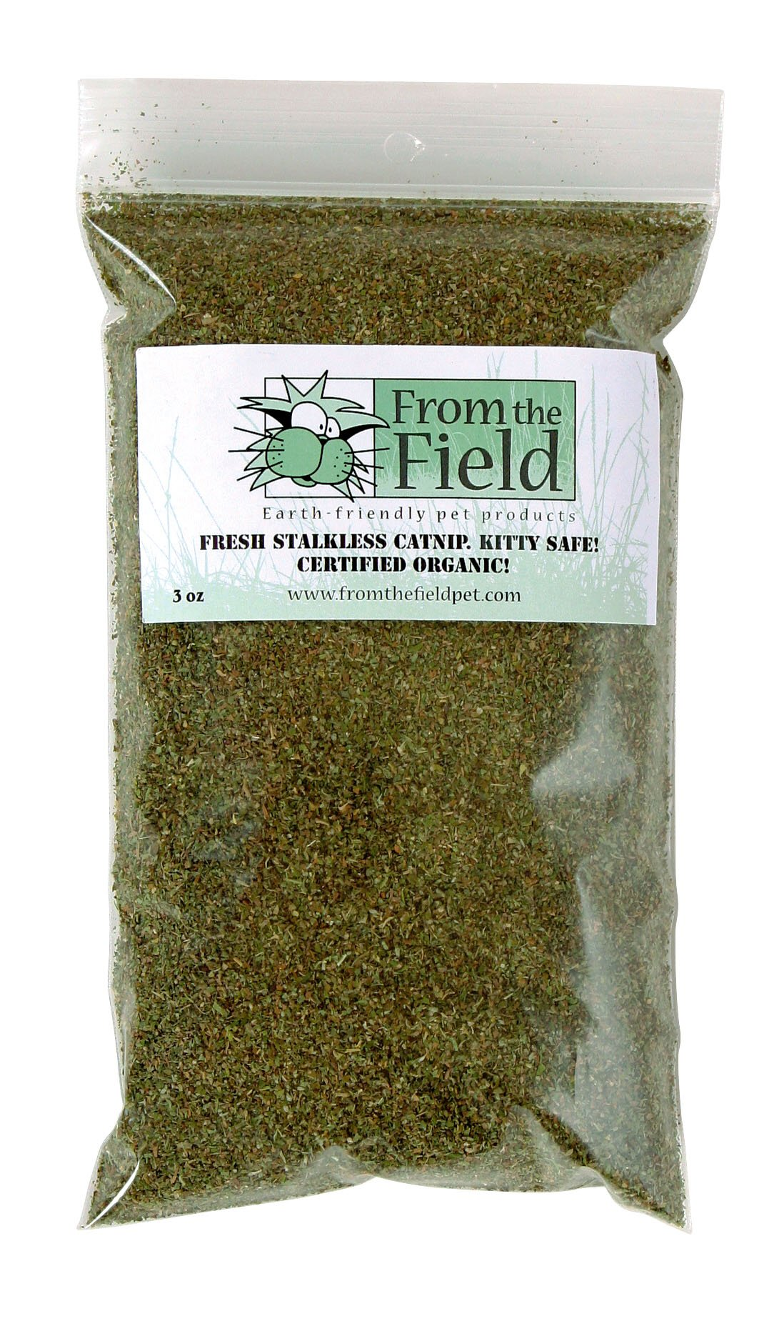 From The Field 3-Ounce Catnip Kitty Safe Stalkless Bag
