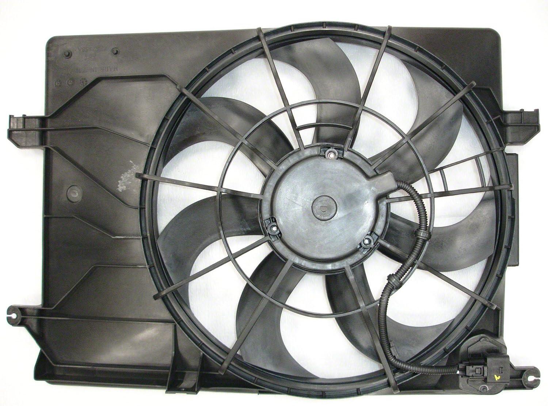 CPP Radiator Single Cooling Fan for Hyundai Tucson, Kia Sportage HY3115137