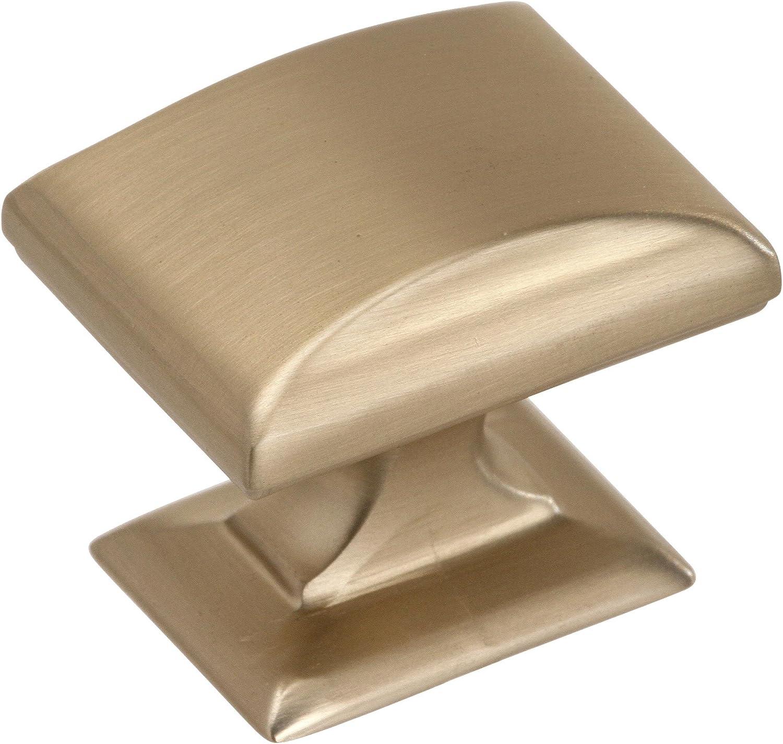 Amerock Candler Collection Length Pomo rectangular 38 millimeter 1-1//2 inch Champ/án dorado cinc