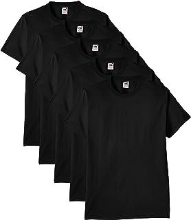 Fruit of the Loom 5 Pack Heavy Men s T-Shirt  Amazon.co.uk  Clothing 19870ca51