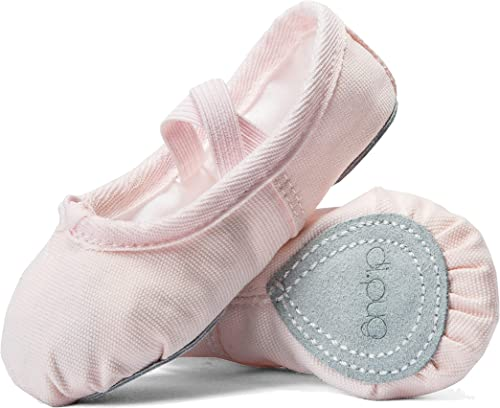 Satin Ballet Practice Shoes Soft Sole Ballet Slipper Gymnastics Dance Shoes for