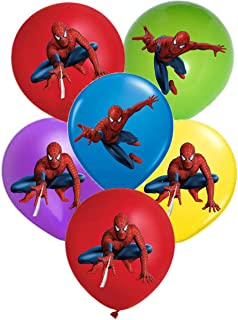 Amazon.com: Marvel Spiderman Feliz cumpleaños Banner 12 pies ...