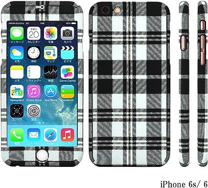 Coque iPhone Intégrale 360 degrés Verre Trempé pour iPhone 6s ...
