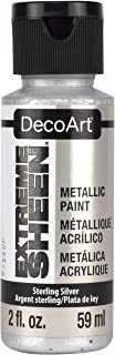 product image for DecoArt 2 Ounce, Sterling Silver Extreme Sheen Paint