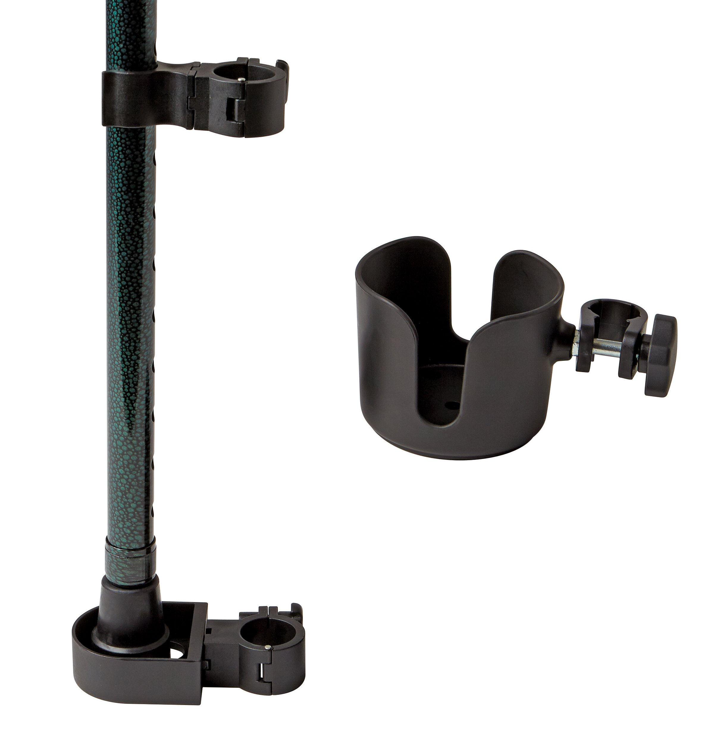 Medline Walker Cup and Cane Holder