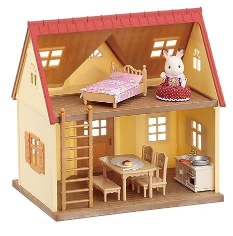 amazon com calico critters cozy cottage starter home toys games rh amazon com
