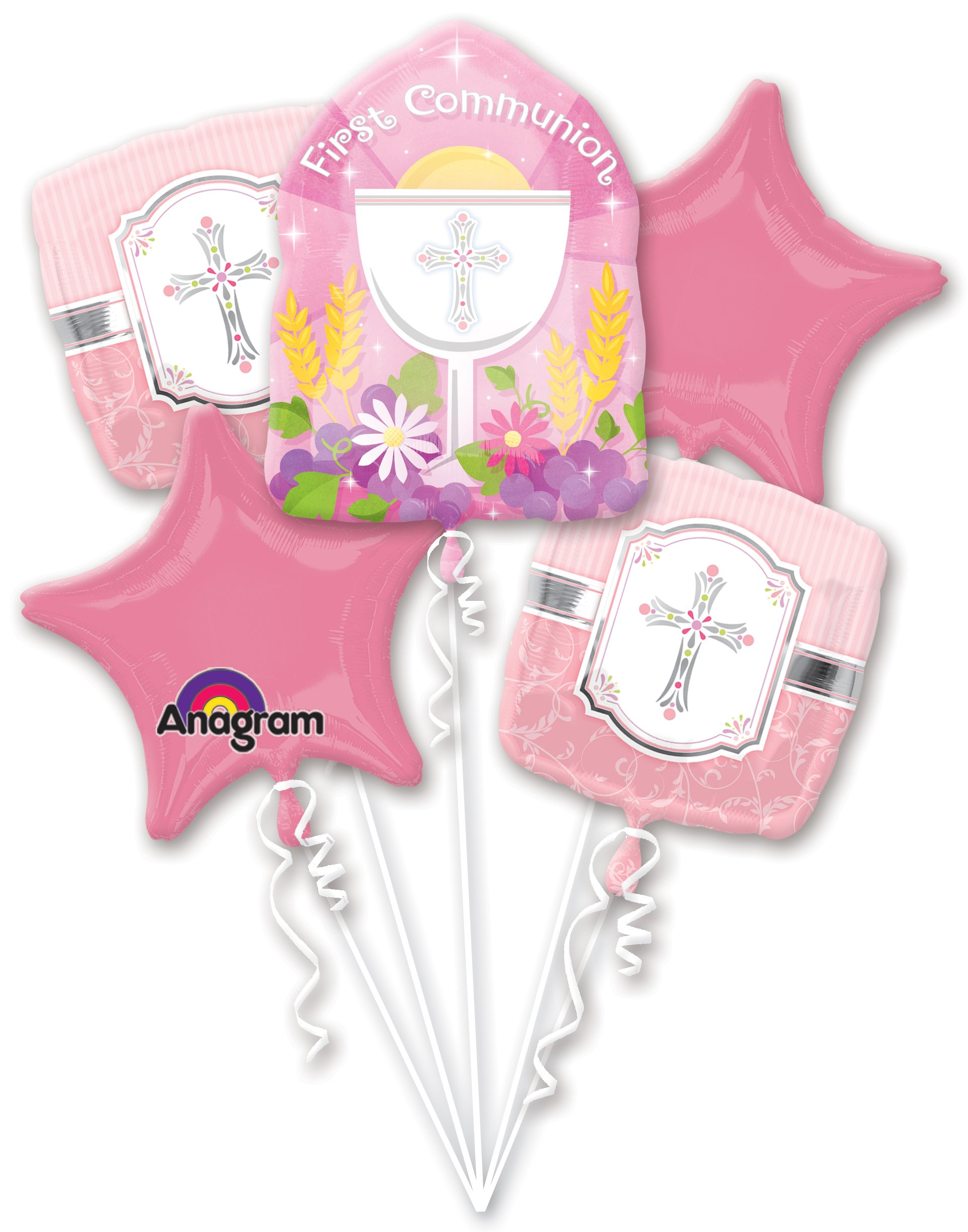 Anagram International A11000501 Communion Blessing Bouquet, Multicolor