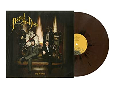 25fea186 Panic! At The Disco - Vices & Virtues (Limited Edition Brown and ...