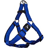 KRUZ PET KZA201-02L Step in Mesh Dog Harness – No Pull, Easy Fit Adjustable Pet Harness – Comfortable, Lightweight Padded Har