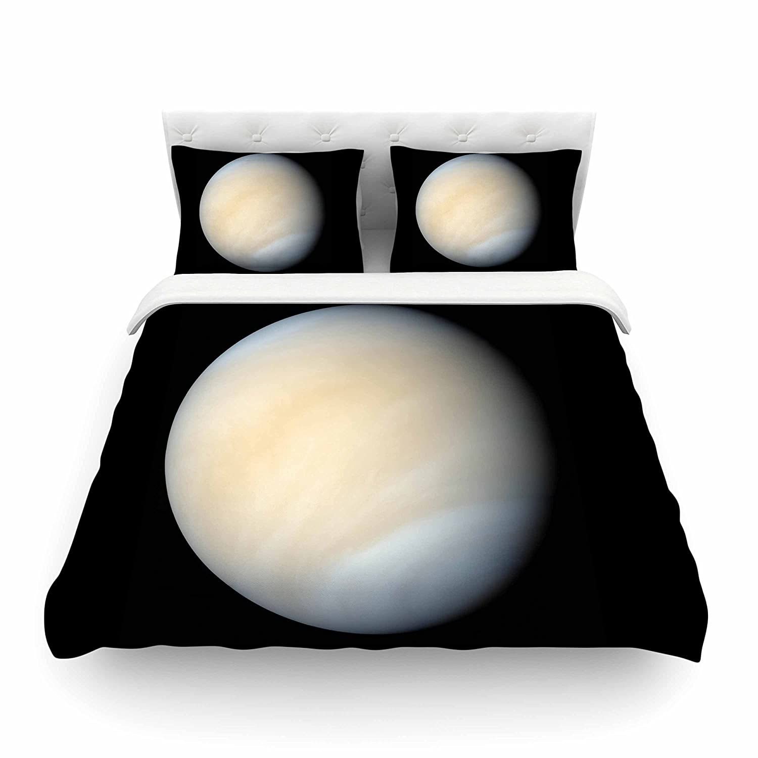 104 x 88 104 x 88 Kess InHouse Alias Venus King Cotton Duvet Cover