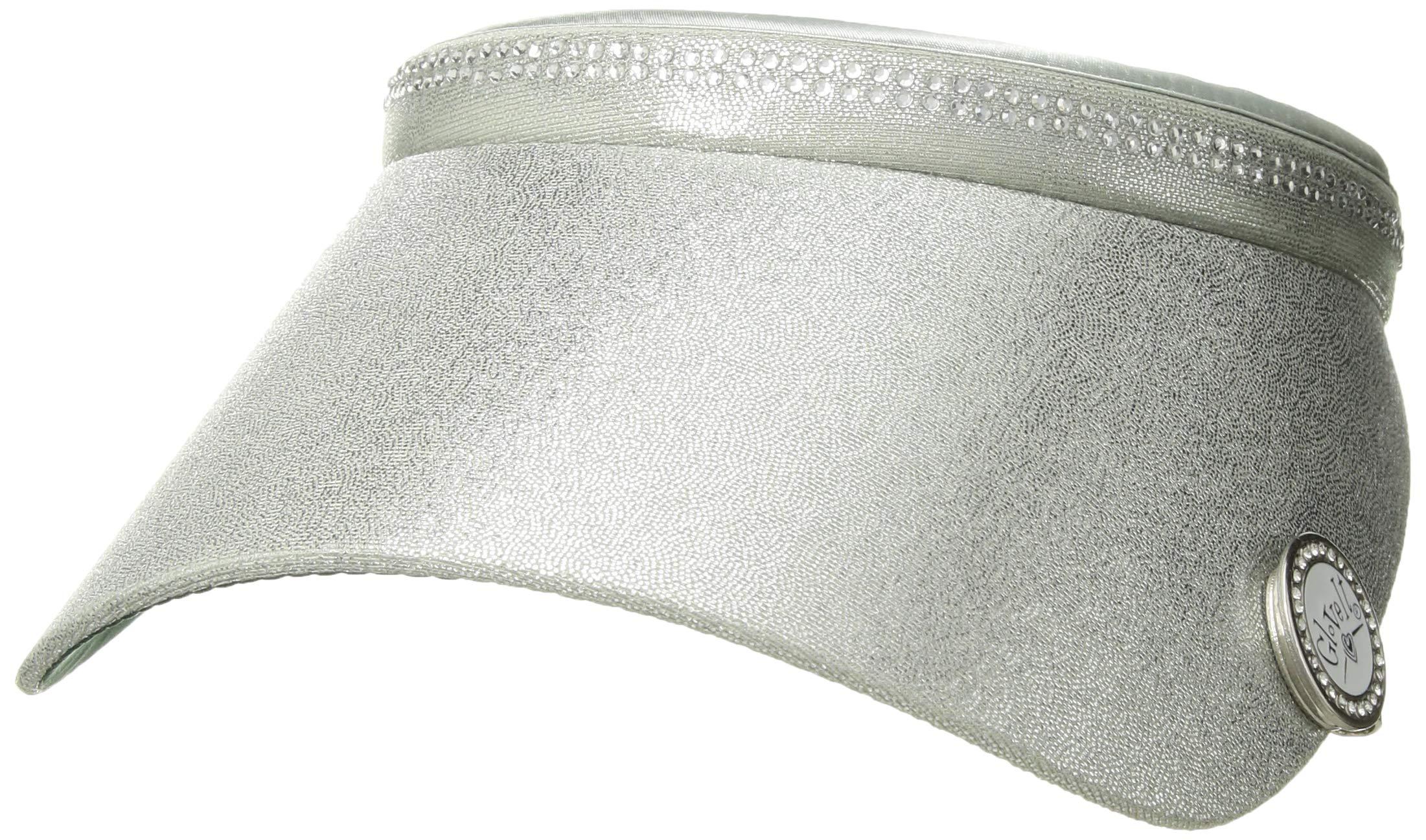 Glove It Women's Bling Visor (Silver) by Glove It (Image #2)