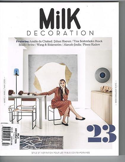Amazon Com Milk Decoration Magazine Issue 23 Magazine Cafe