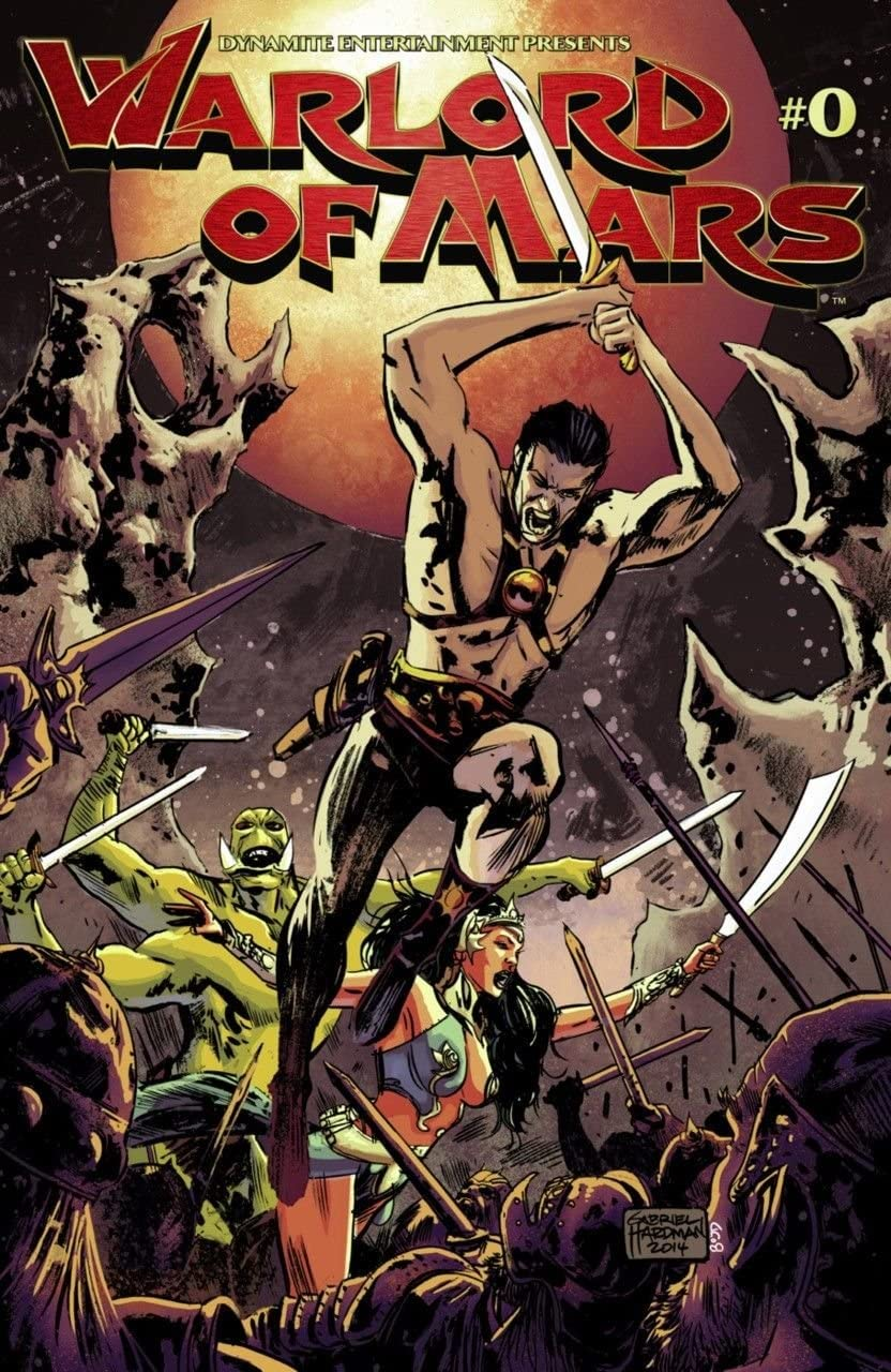 WARLORD OF MARS #0 VF//NM DYNAMITE ENT.