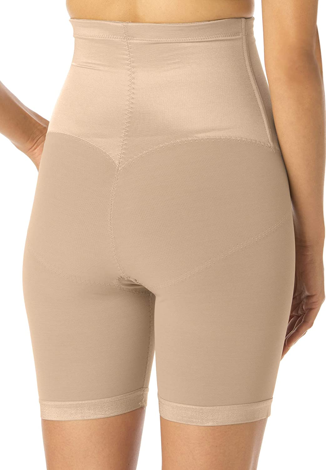 Secret Solutions Womens Plus Size Long Leg Shaper