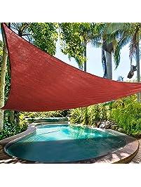 Amazon Com Shade Sails Patio Lawn Amp Garden