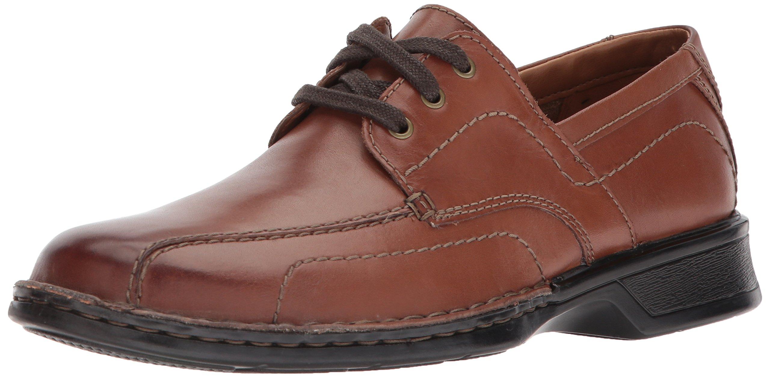 Clarks Men's Northam Edge Shoe, brown leather, 13 Wide US