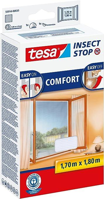 1.30m x 1.50m Blanche Eté Insect Stop Moustiquaire Standard Pour fenêtr