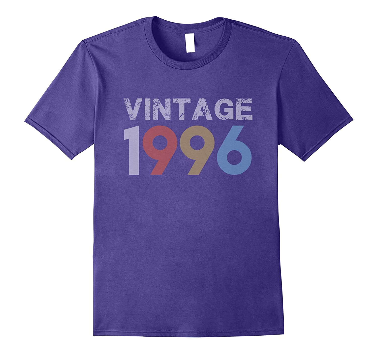 Vintage 1996 21st Birthday Gift For 21 Year Old T-Shirt-FL