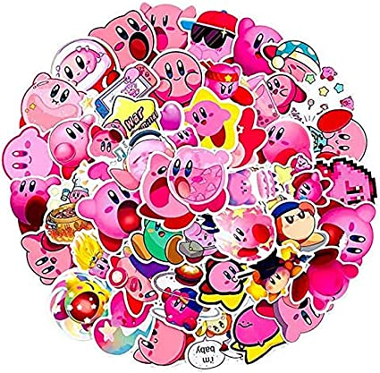 Amazon.com: Kirby Star Stickers | 50 PCS | Vinyl Waterproof Stickers for Laptop,Skateboard,Water Bottles,Computer,Phone,Anime Stickers Kirby Star Allies (Star Allies-50pcs): Kitchen & Dining