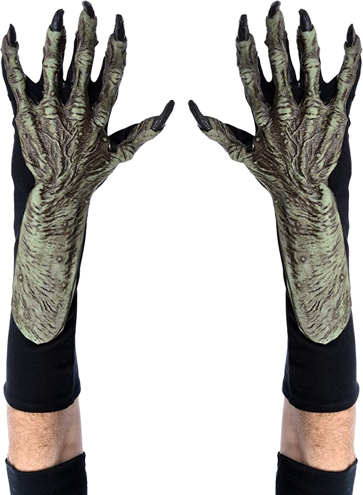 Creepy Witch Gloves Adult Costume Accessory