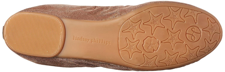 Lindsay Phillips Women's Liz Ballet US|Bronze Flat B00J66MYAS 9 B(M) US|Bronze Ballet c1f41c