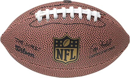 WILSON NFL BALLS MICRO OFFICIAL SIZE JUNIOR FULL SIZE AMERICAN FOOTBALL