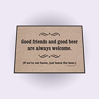 product image for High Cotton Good Friends Good Beer Mat