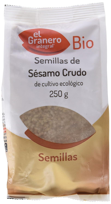 SESAMO CRUDO BIO 250 gr: Amazon.es: Alimentación y bebidas