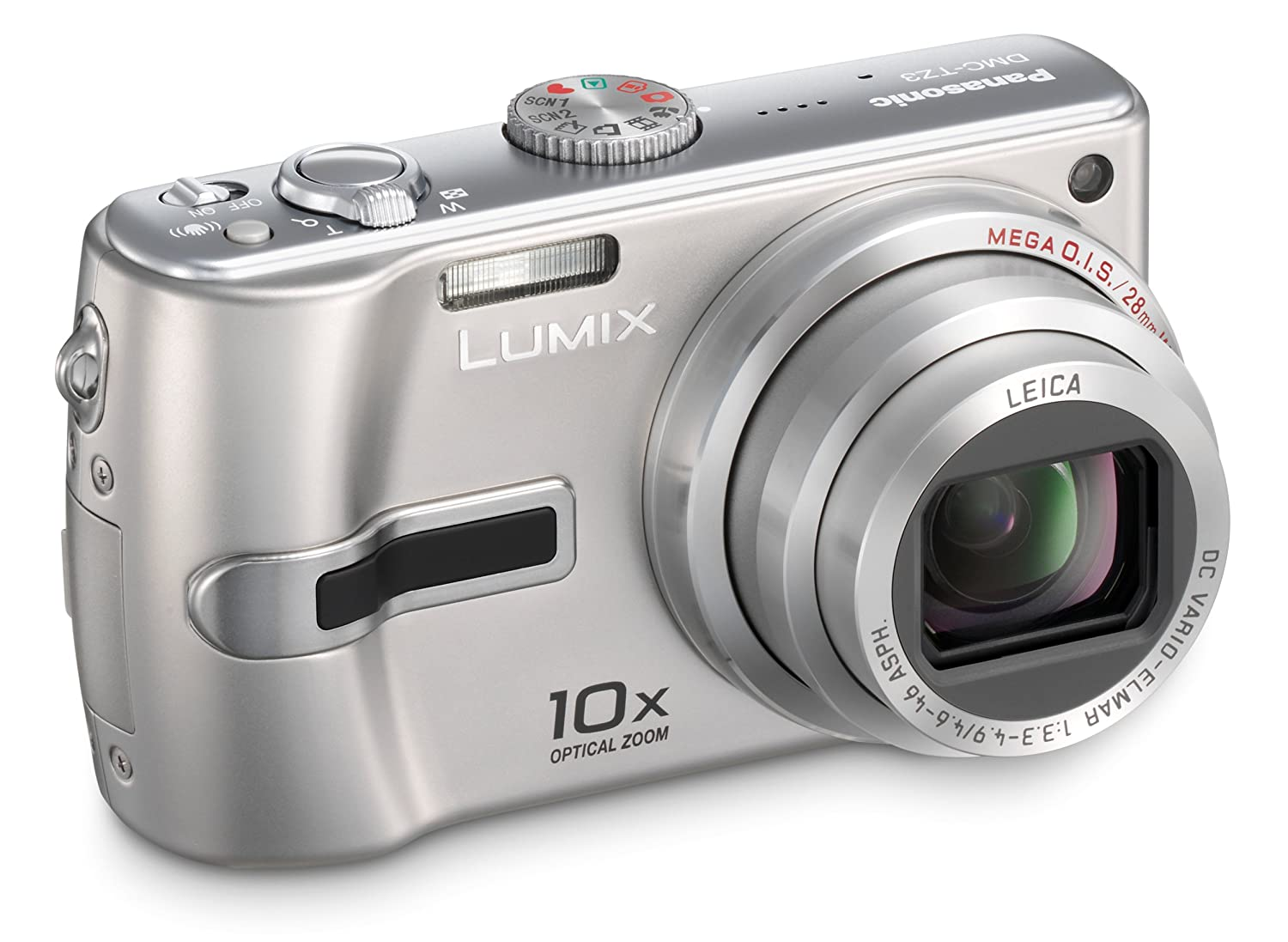 Amazon.com : Panasonic Lumix DMC-TZ3S 7.2MP Digital Camera with 10x Optical  Image Stabilized Zoom (Silver) : Point And Shoot Digital Cameras : Camera &  ...