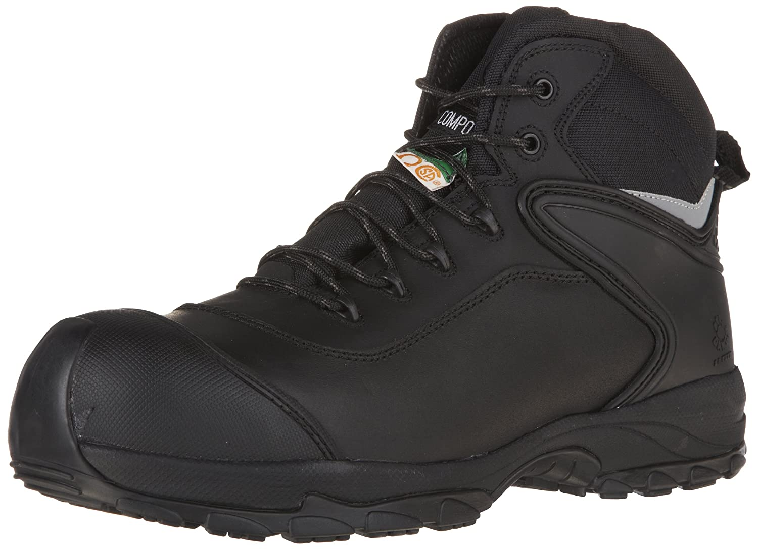 1863013f183 Dawgs Men's 6-inch Ultralite Comfort Pro Safety Boots