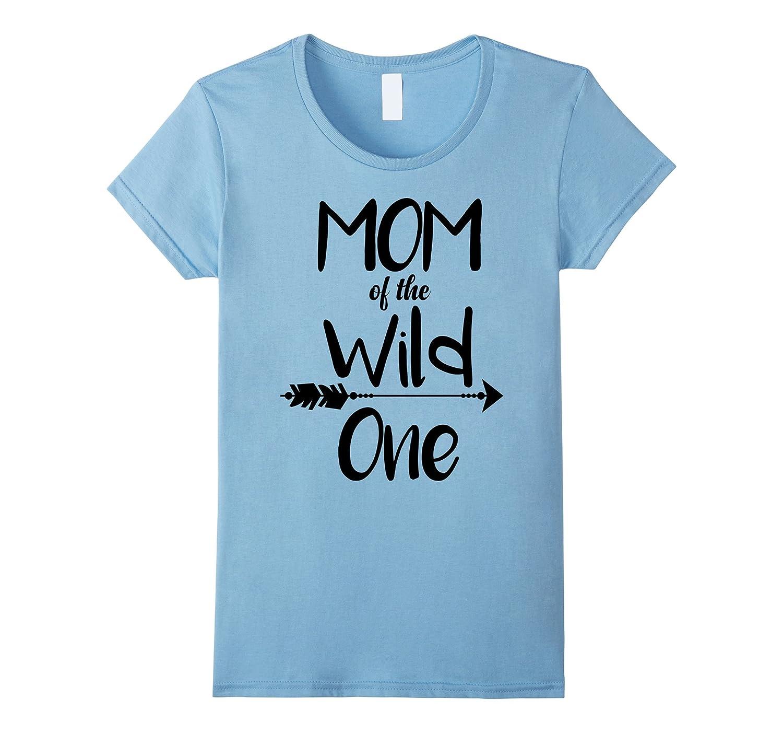 5840d364 Womens Boho Mom Of The Wild One Thing 1st Birthday Matching Shirt-FL ...