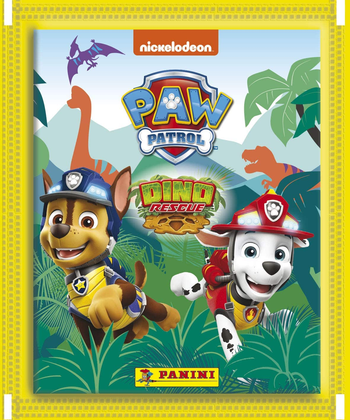 Panini France SA-PAT DINO RESCUE Paw Pack of 13 Pockets 2