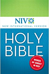 NIV, Holy Bible, eBook, Red Letter Edition Kindle Edition