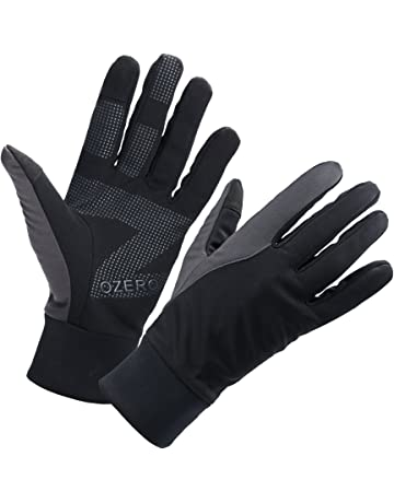 4fad404a80f OZERO Mens Winter Thermal Gloves Warm Touch Screen for Driving Cycling  Running