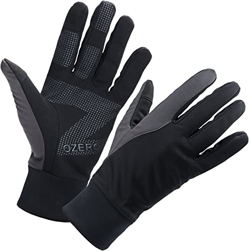 OZERO Mens Winter Thermal Gloves Touch Screen Glove