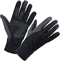 OZERO Mens Winter Thermal Gloves Touch Screen Glove Water Resistant Windproof Warm for Driving Cycling Running