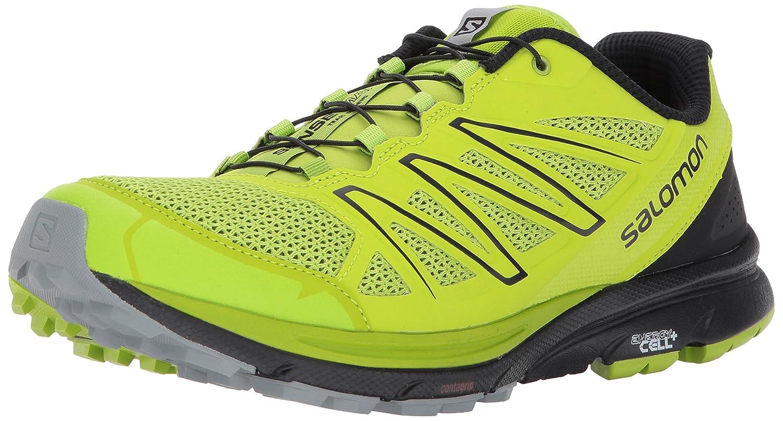 Salomon Sense Marin, Zapatillas de Senderismo para Hombre 46 2/3 EU|Verde (Lime Green/Black/Quarry)
