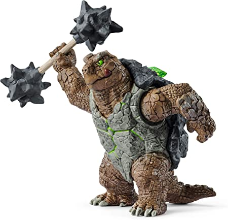 Schleich Eldrador, Eldrador Creatures, Action Figures for Boys and Girls 7-12 years old, Armored Turtle with Weapon