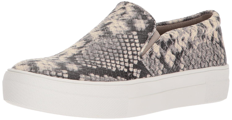 Steve Madden Women's Gills Fashion Sneaker B071GPR4BS 6 B(M) US|Natural Snake