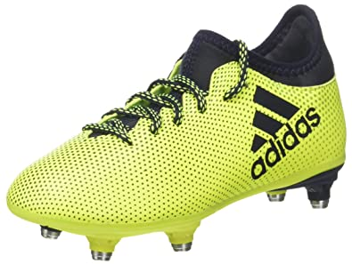 quality design 497be 56635 adidas Unisex-Kinder X 17.3 SG Fußballschuhe, Gelb (Solar Yellow Legend Ink)