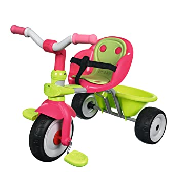 Smoby Baby Driver V Confort + Canopy, Multi Color Trikes at amazon