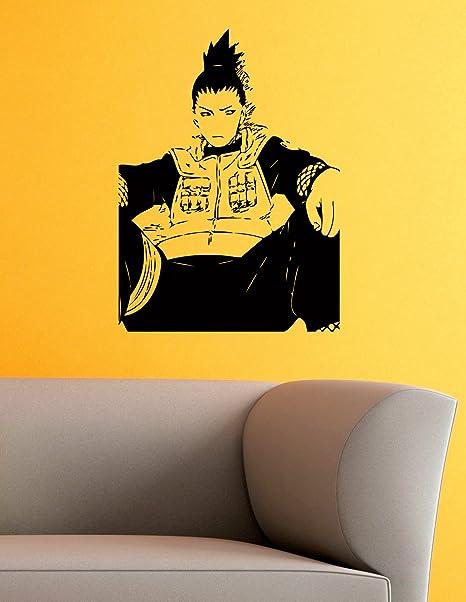 Amazon.com: Shikamaru Nara Vinyl Wall Decals Ninja Konoha ...